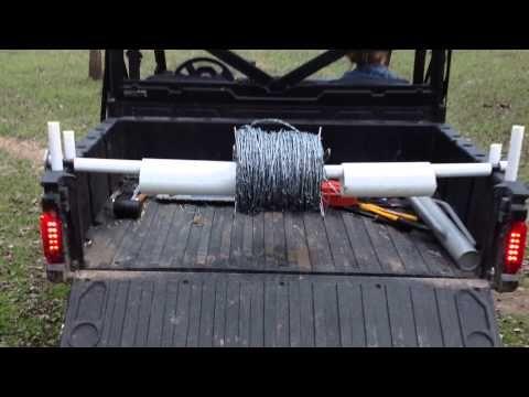 UTV / ATV ARAME RIG! Como colocar uma cerca de arame farpado.