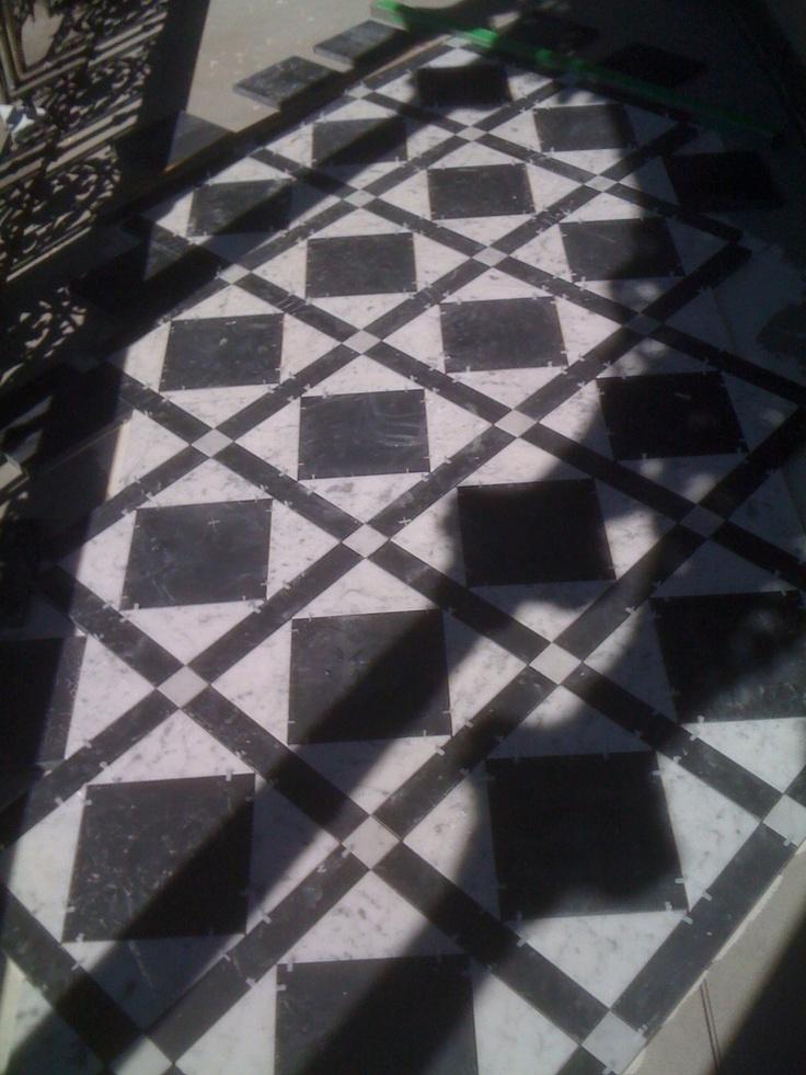 Verandah tiling