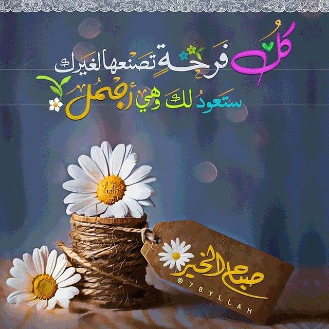 كل فرحة تصنعها Good Evening Greetings Beautiful Morning Messages Good Morning Images Flowers