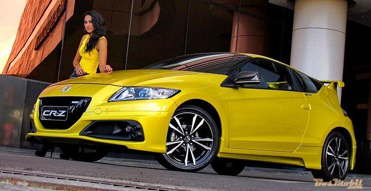 Honda CR-Z - Trendsetter Mobil Sport Hybrid #CarReview #BosMobil