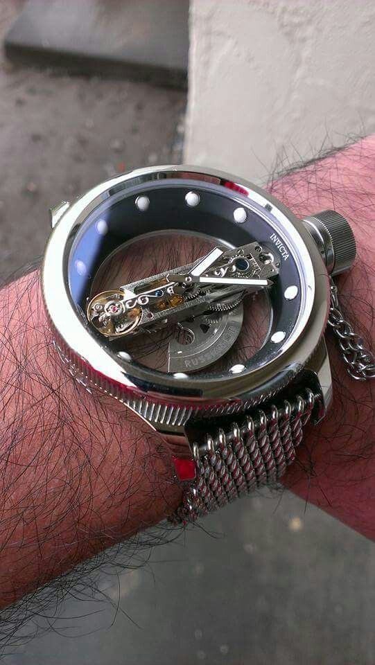 Invicta Mens Skeleton Watch Images Orient Watches Scuba Rope Fossil