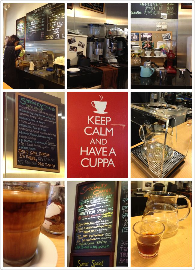 旺角精品COE咖啡店 因看過陳豪先生所寫的品味咖啡而慕名前去,他們咖啡真是很錯,店員的服務和態度亦十分好,很願意和客人分享烹調和品嘗咖啡的心得,每位對咖啡有興趣但又一竅不通的朋友,上到去後一定會對咖啡有更深的認識。 (相比咖啡,他們的tiramisu明顯地不是同樣的出色)