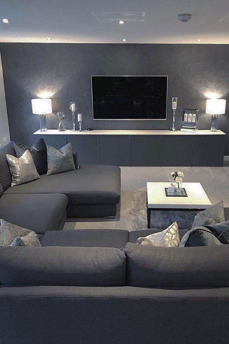 30 Stylish Modern Living Room Ideas 2019 Page 20 Of 36 My Blog Farm House Living Room Apartment Interior Design Cute Living Room