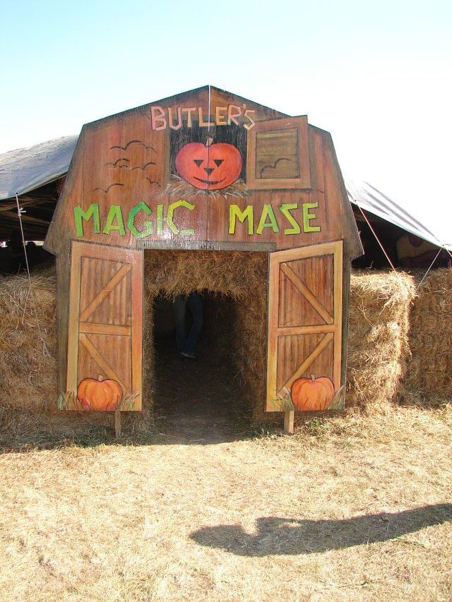 Celebrate the Season at Butlers Orchard Pumpkin Festival: Hay Maze