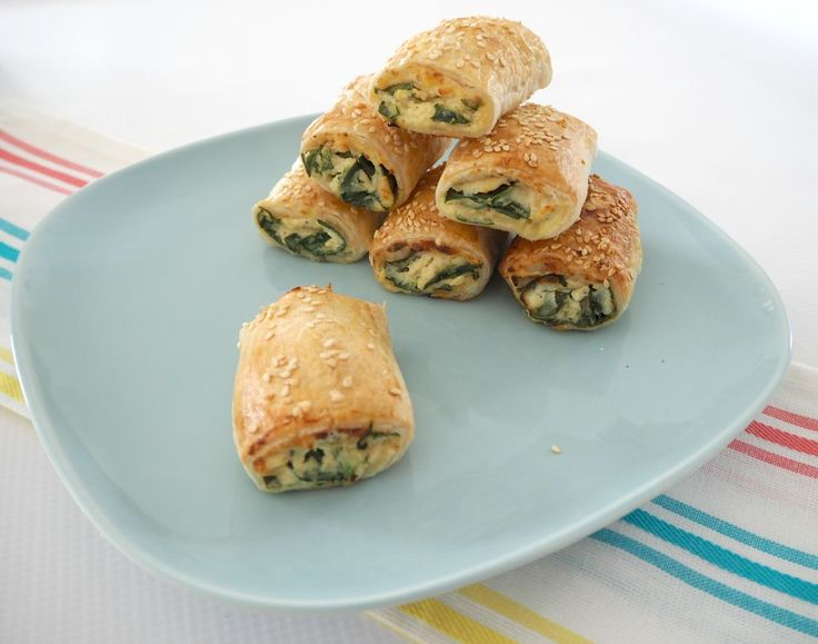 Thermomix Spinach and Ricotta Rolls