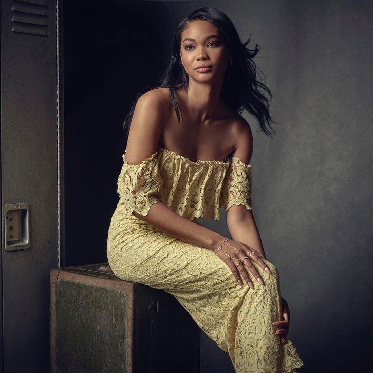 Chanel Iman inside Vanity Fair