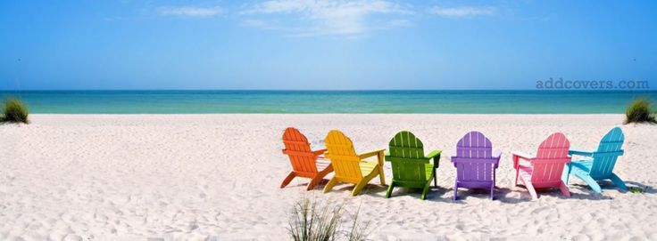 Colorful Beach Facebook Covers