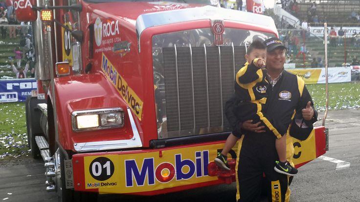 Juan Carlos Galindo, 2° ganador, de la categoría de pesados, 29 GPNMD.