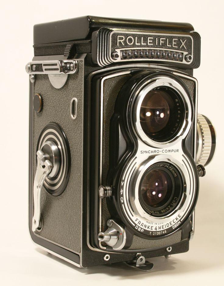 La fotocamera Rolleiflex T | Storia della fotografia - itinerario tra fatti, personaggi, attrezzature e curiosità
