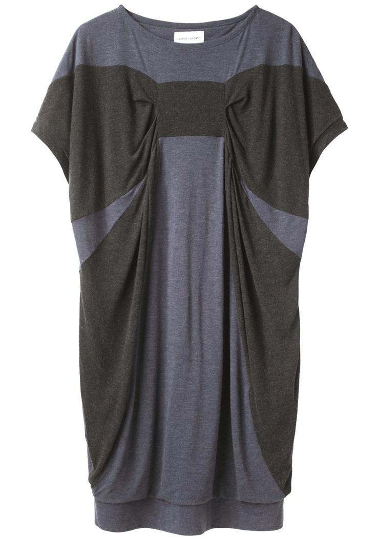 TSUMORI CHISATO /RAYON SOFT T DRESS