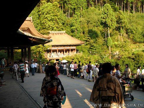 """der """"Kiyomizu""""-Tempel, Kyoto, japan"""