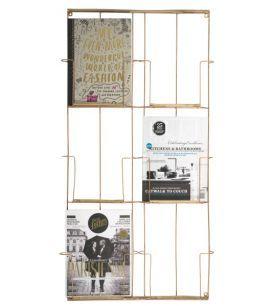 Zeitschriftenständer Kupferholz Madam Stoltz