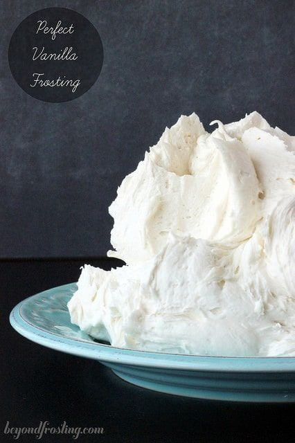 Today's post is all about going back to the basics. This is the perfect vanilla frosting (or buttercream recipe) and can be used as a base for many different types of frostings. Recently, my readers have been emailing me asking for a basic vanilla frosting recipe. While I have over 30 awesome frosting recipes, I …