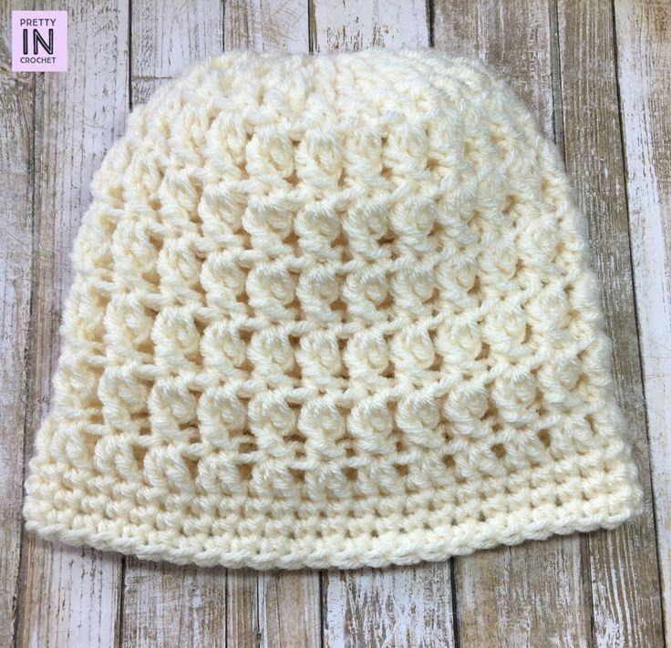 Neutral But Chic Beanie free crochet pattern link