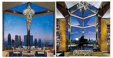 L'Hotel più caro di New York con vista sulla skyline di Manhattan, pareti di marmo e mobili di antiquariato Clienti gestori di hedge fund e grandi banchieri