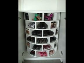 Cómo hacer un organizador de zapatos barato y fácil…