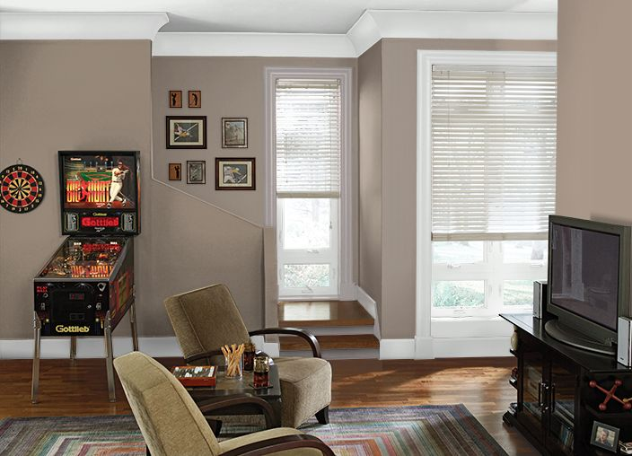 Living Room Paint Color Ideas With Wood Trim
