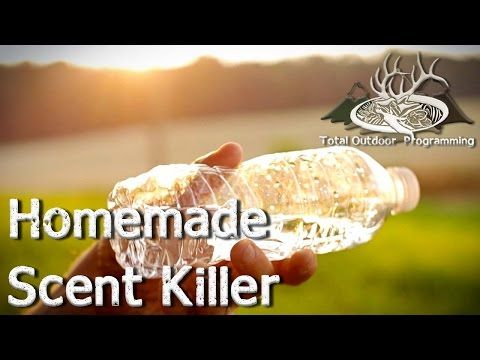 How to make homemade Scent Killer Spray for Hunting Deer, Hogs and Coyote (DIY) - YouTube