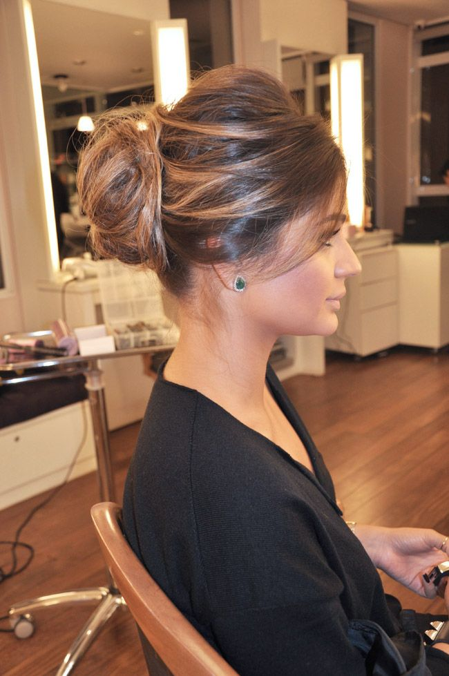 Este penteado da Thassia Naves é de suspirar. Lindo!