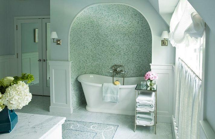 love the tiled alcoveBathroom Design, Courtney Hills, Bathroom Inspiration, Awesome Tubs, Dreams Bathroom, Bungalows Bathroom, Master Bathroom, Bath Alcove, Spa Bathroom