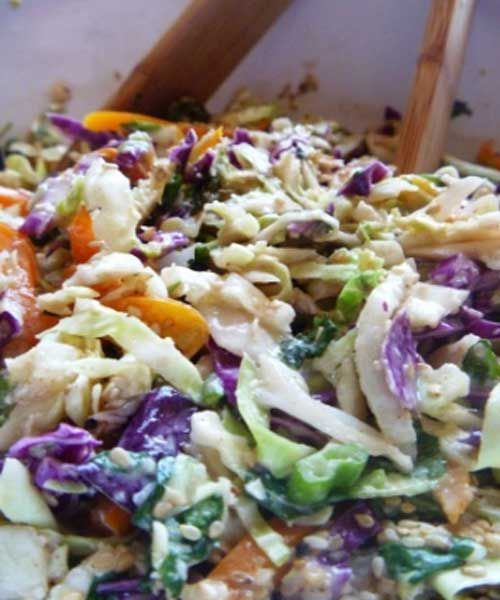 Recipe for Hawaiian Coleslaw - Planning a Hawaiian Luau, the menu has to fit the theme- here's a Hawaiian Coleslaw everyone will shake their hips to!!
