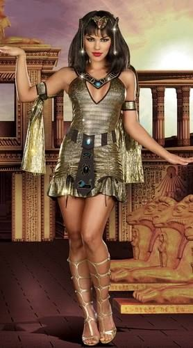 Naughty on the Nile Egyptian Costume . Click to Purchase . #sexy #costume #dress