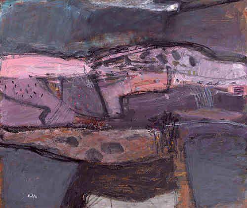 Pink Hill, Ayrshire by Sandy Murphy