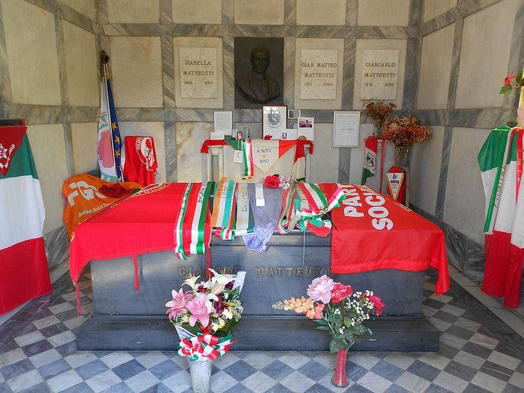 tomba Giacomo Matteotti a Fratta Polesine
