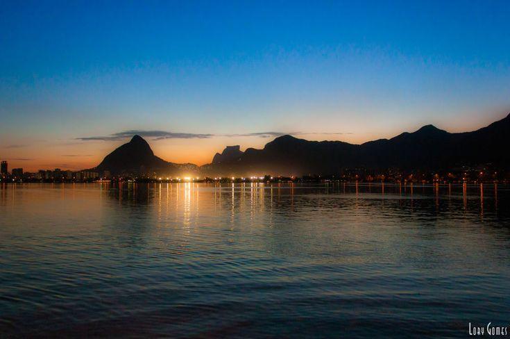 Lagoa Rodrigo de Freitas Rio de janeiro Brazil  by Lory Gomes