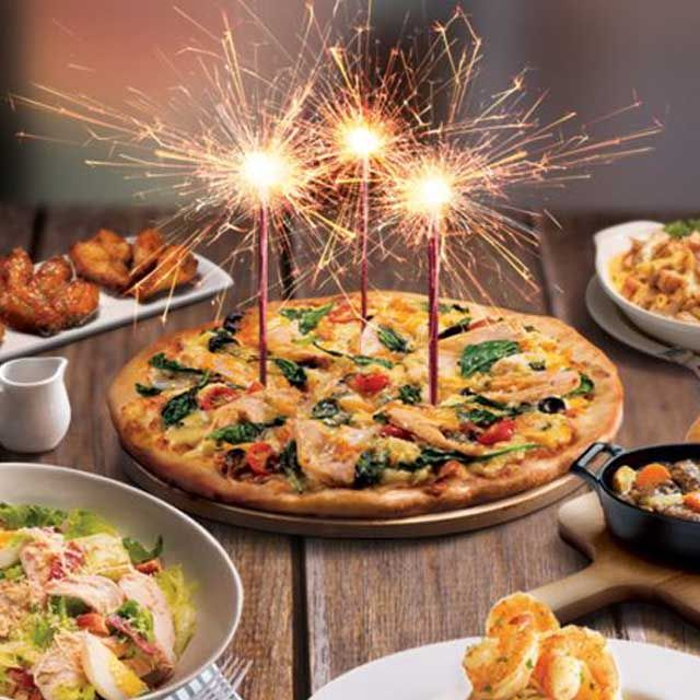Pizza Hut celebrates their 3rd anniversary with a special 50% off 3 course a la carte meal promotion! Choose any main + appetiser + drink and enjoy 50% OFF @Pizza Hut. Check in store for more details. Terms & Condition apply. https://www.alady.sg/brand/pizza-hut?p=11378 #aladysg