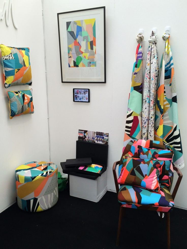 Kitty McCall Textiles Fabric. Design Junction & Tent London 2015 | Design Soda : Interiors Blog