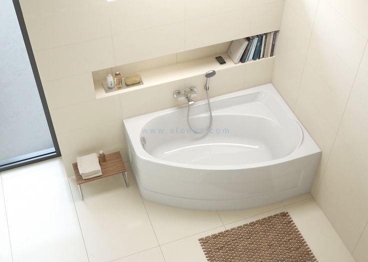 Ванна акриловая IFO LOCKA (140х90) угловая асимметричная правая (с ножками) BA40140000, цена 13 990 руб.