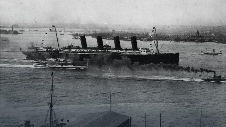 """Tragedia """"Lusitanii"""", cynicy i barbarzyńcy #historia"""
