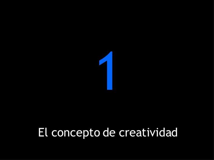 El concepto de creatividad by Yumarys Polanco via slideshare