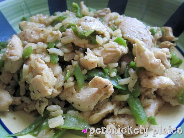 Persnickety Plates: Chicken & Green Bean Stir Fry