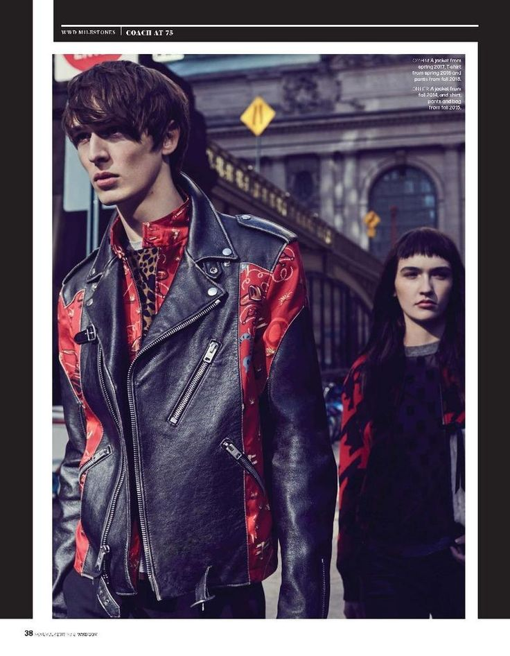 Dylan Fender for Coach at 75 (WWD)