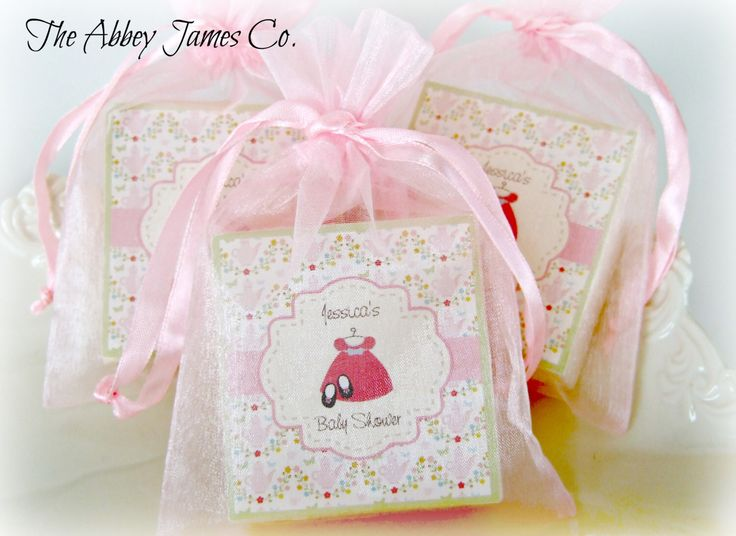 Baby Shower Favors, Party Favors, Soap Favors, Baby Girl Favors, Baby Sprinkle, set of 10 by AbbeyJames on Etsy https://www.etsy.com/listing/124710316/baby-shower-favors-party-favors-soap