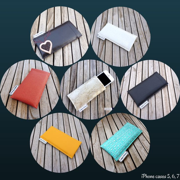 Simple and yet beautiful: iPhone cases made of high grade snake vegan leather in gold, stingray in orange, krok-look in turquoise, white with glitter, black Skai vegan leather, brown with embroidery etc. ... for iPhones 5, 6 and 7 at http://www.wagnerstrasse.de #iphonecase #vegan #veganleather #simplelife