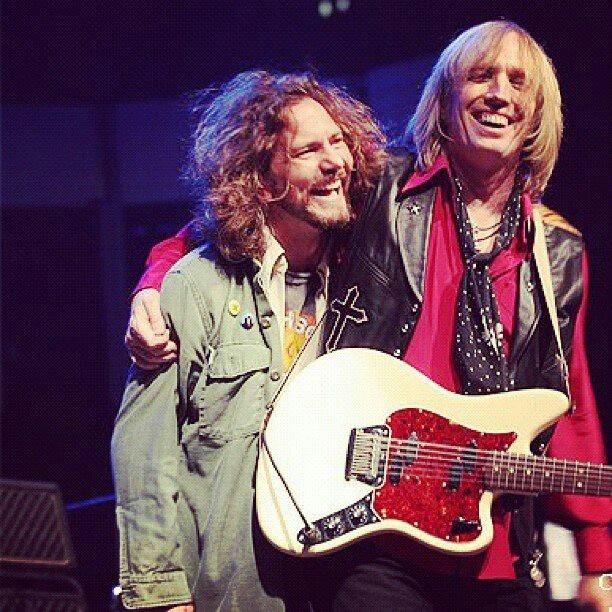 Eddie vedder and Tom Petty