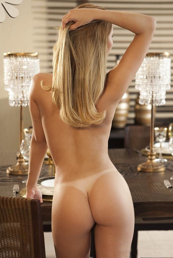 Tan naked ass woman — 1