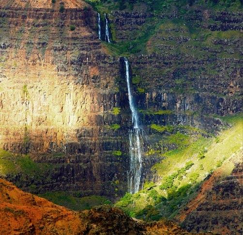 Kauai Journey Over Hanapepe Valley Jurassic Park Falls