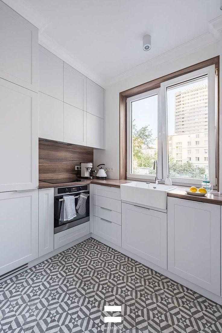 Mieszkanie 50m2 Proj Wz Studio Ih Internity Home Small Space Kitchen Kitchen Design Kitchen Inspirations
