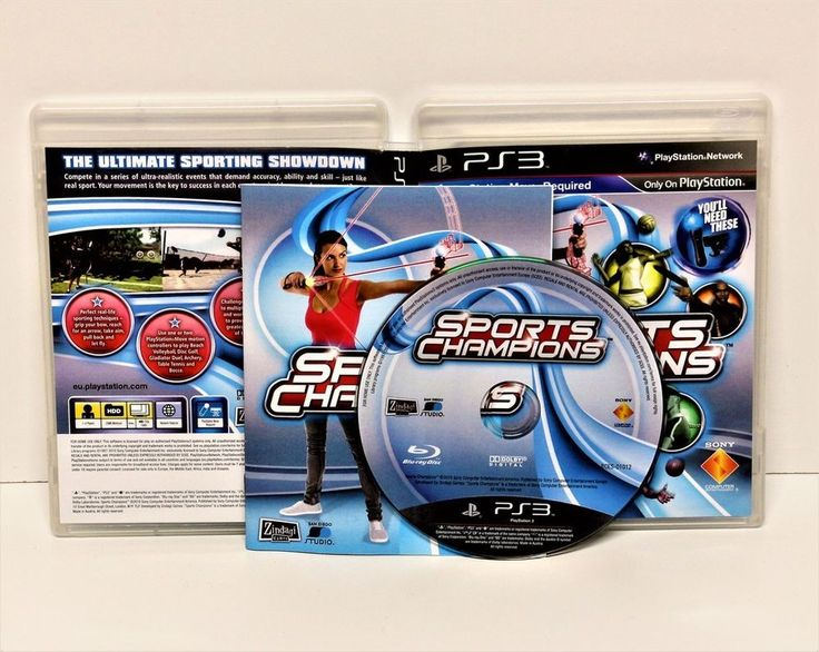 PS3 SPORTS CHAMPIONS GAME PLAYSTATION MOVE REQUIRED PAL VIDEO GAMES