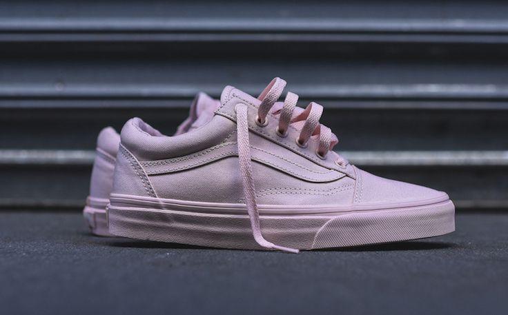 Sneakers femme - Vans Old Skool Mono Pack peach (©kith)