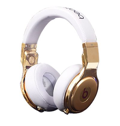 bongo gold rhinestone headphones pics home beats by. Black Bedroom Furniture Sets. Home Design Ideas