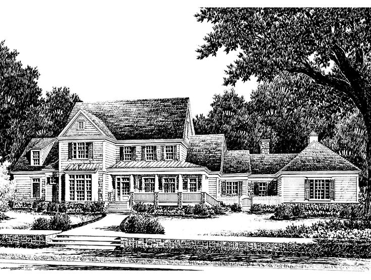 Eplans farmhouse house plan beacon hill from the for Southern living detached garage plans