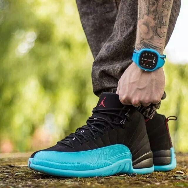 sale retailer 234ec 364e5 ... gamma blue on feet Jordan Future Low Air Jordan 12 ...
