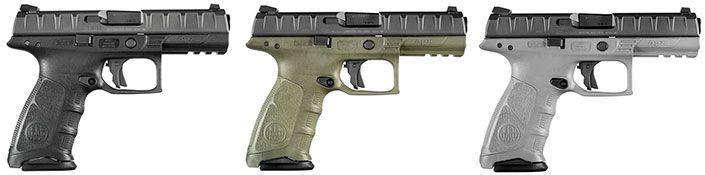 Beretta APX, a full-size, striker-fired, polymer-frame pistol (2)