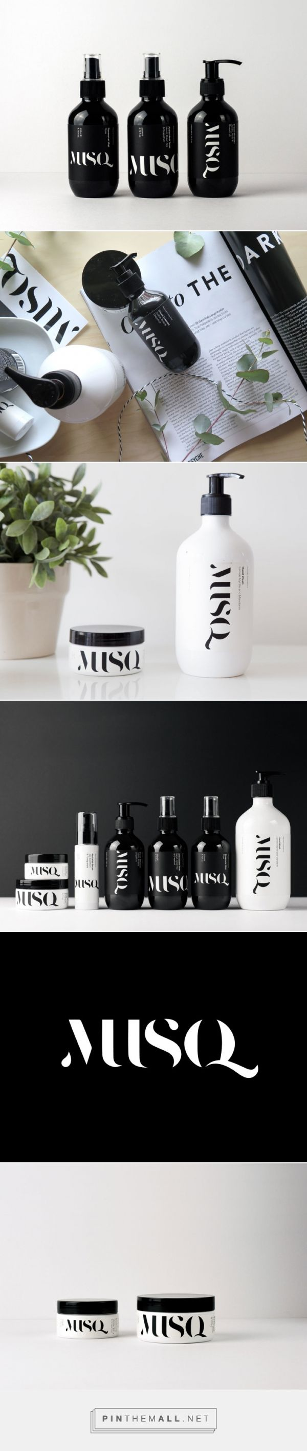 Musq: Natural Skincare With Clean Design | Trendland - created via https://pinthemall.net