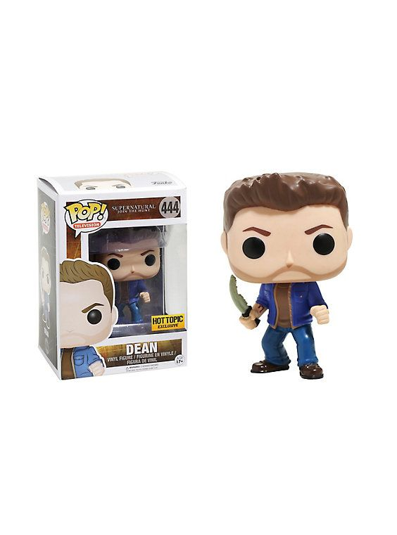 Supernatural Funko Pop! Dean With First Blade Vinyl Figure Hot Topic Exclusive. Had to have it!